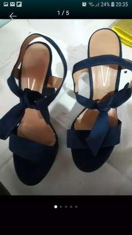Vizano azul gamuzado