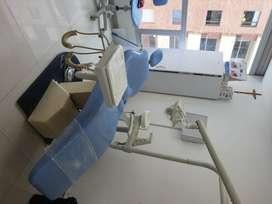 Unidad odontologica base fija funcionando perfectamente