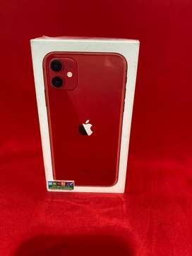 Iphone 11 rojo negro