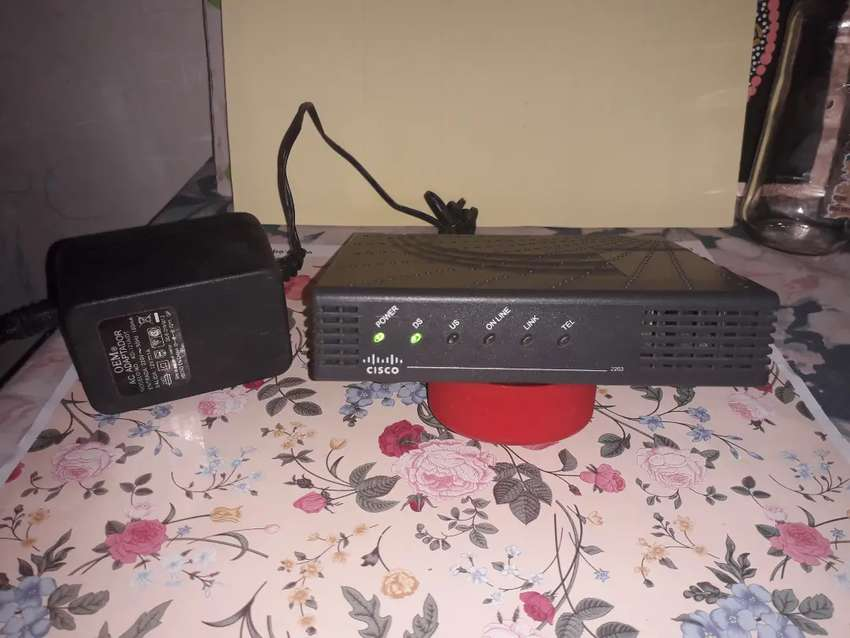 Vendo Cisco DPC2203 con fuente 0