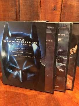 La Trilogía Batman DVD