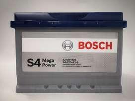 Batería Bosch para carros Gratis Domicilio