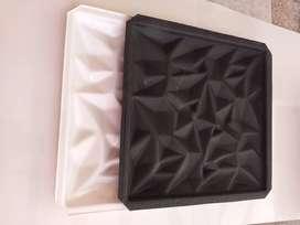 Moldes para fabricar placas de yeso