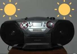 Vendo reproductor Phillips cd usb radio