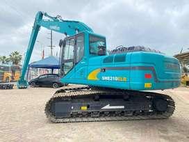 Venta de Excavadora SUNWARD SWE210ERL  motor ISUZU 23 A 24.6 toneladas