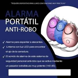 LLavero Alarma (140Db) ant- robo