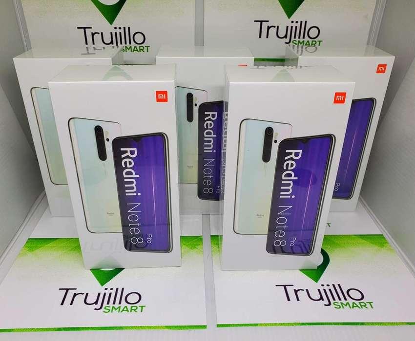 Xiaomi Redmi Note 8 pro 64 gb y 128 gb cajas selladas garantia un año 0