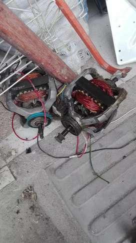 Para repuestos motor y quemador para secadoras industriales
