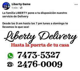 Se hacen deliverys Liberty Delivery