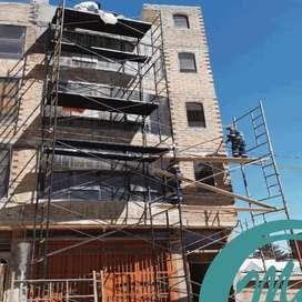 ALQUILER Y VENTA DE ANDAMIOS DE CONSTRUCCIÓN