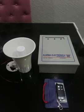 Se vende alarma electrónica para locales comerciales, viviendas etc