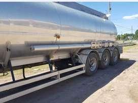 Semi Tanque de Combustibles de aluminio.