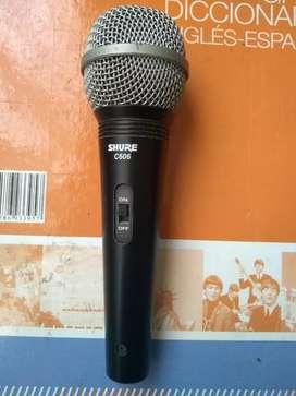 Microfono profesional SHURE C606