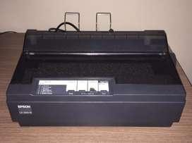 Impresora LX 3002 ,conexcion USB color negra flamante,como nueva