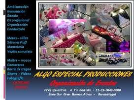 DJ PROFESIONAL - ORGANIZACIÓN DE EVENTOS - SONIDO - ILUMINACIÓN - CONDUCCION
