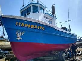 Se vende embarcación pesquera de 18 TN