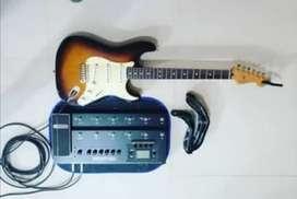 Guitar Fender pedal línea 6 HD 500x