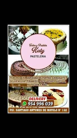 Tortas y Pasteles delivery