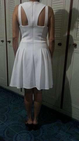Venta de Vestido Blanco Americano Talla 8