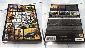 GTA V para PC BARATO! Grand Theft Auto ORIGINAL Físico en Caja 7 Discos y Mapa