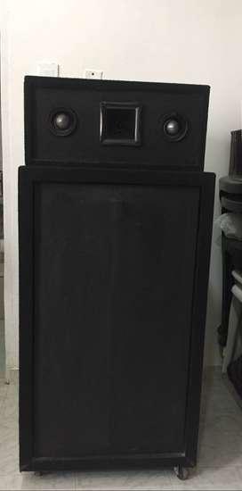 Potente caja de sonido (turbo)