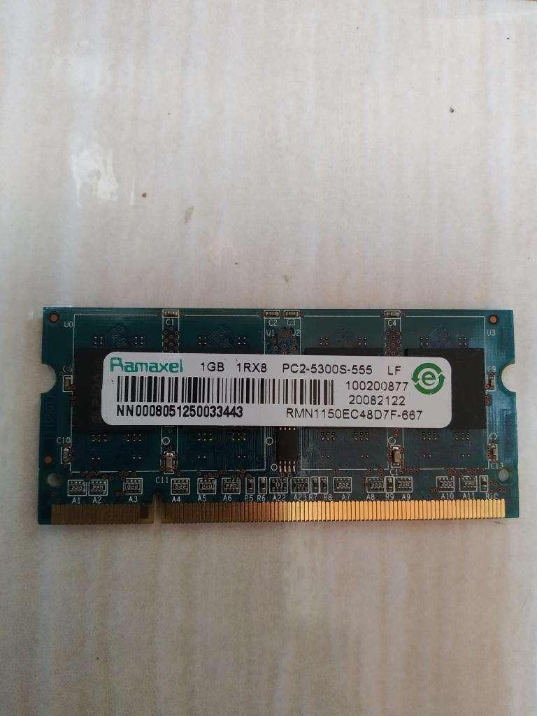 Memoria Ram Ddr2 Laptop 1gb Ramaxel 0