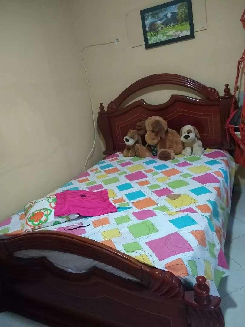 Vendo cama doble completa 0