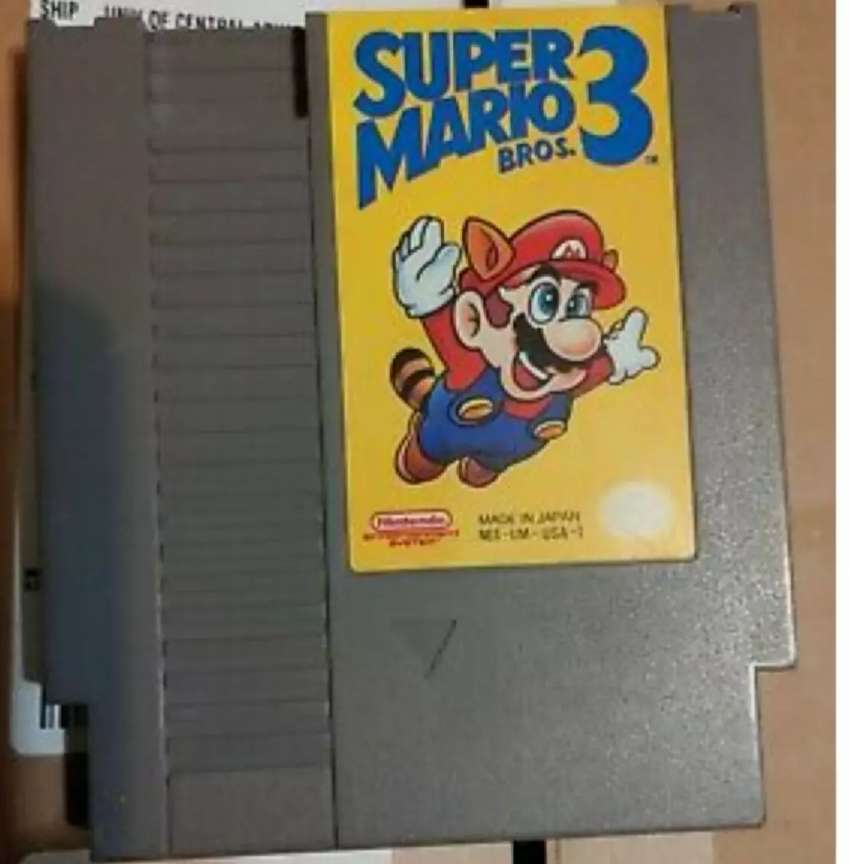 Cartucho de Juego de Video Nintendo Nes Super Mario Bross. 3 0
