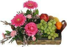 Arreglos de flores, frutas y mas