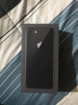 Vendo iphone 8 Nuevo negro 64 gb