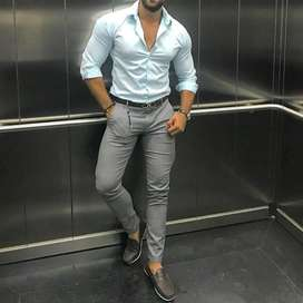 Pantalones para Hombre, Entubados,