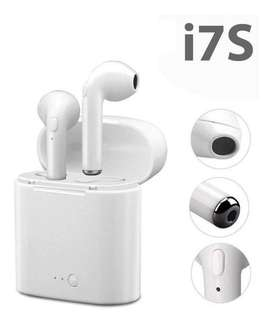 Audifonos Bluetooth I7s Tws Cargador Portatil Apple Android