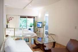 Alquiler Temporario Hermoso Studio en Recoleta con Balcón