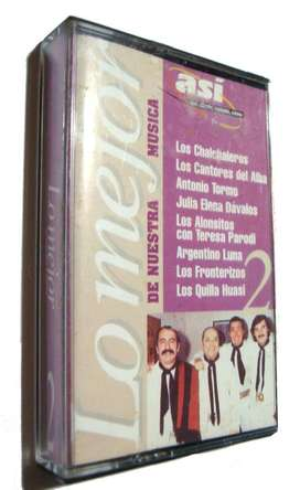 Cassette Lo Mejor De Nuestra Musica Folklore Chamame