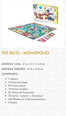 Tio rico Mc. Pato - monopolio original
