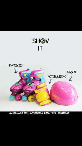 Patines Luna Shovit Original Goma Kit
