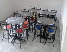Se vende mesas para negocio