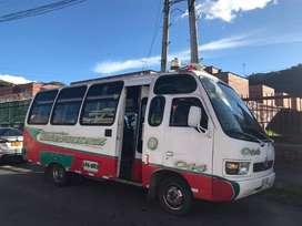 Buseta intermunicipal 21 pasajeross