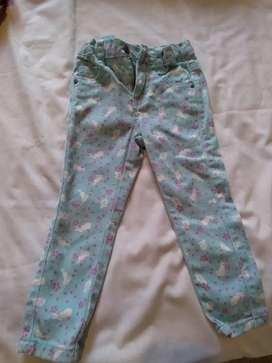 Pantalon jeans de nena talle 2