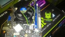 Combo Board Intel I5 4570 Ram 8gb