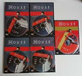 ORIGINALES - Dvds Doctor House  CDJESS musica y pelis