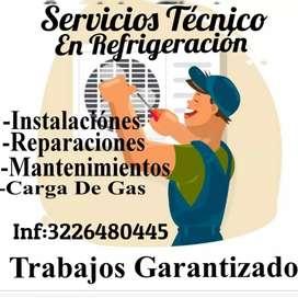 Servicios técnicos en refrigeración