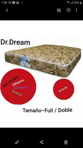 Colchon Full   Semi Orthopedico Marca Dr. Dream