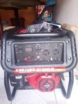 Generador de energía 5500 wats de paquete no se ha usado por emergencia lo vendo