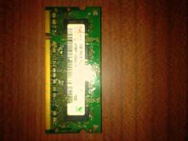 RAM DDR2 SODIM 512 mb (Net/Notebooks)
