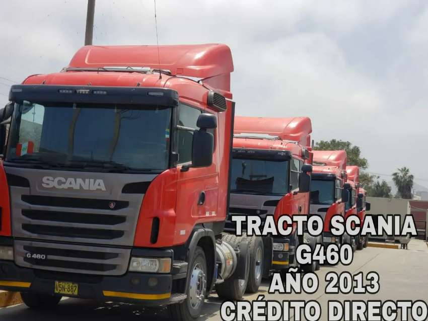 TRACTO SCANIA G460 año 2013 0