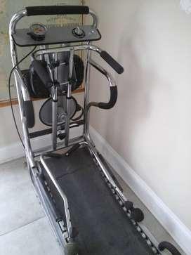 MULTIGYM, cinta de caminar, bici, remo, cintura