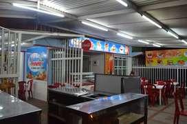 Se vende heladeria, fruteria y comidas rapidas
