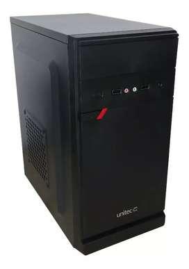 Mini torre Unitec Pentium G6400 4Ghz ddr4 8GB ssd m.2 500GB