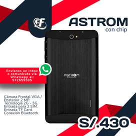 Tablet ASTROM con chip